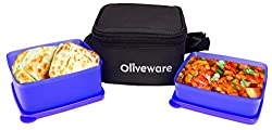 Oliveware LB49 2 Container Lunch Box (900 ml)