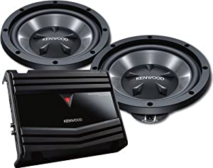 Kenwood P-W1210 350-Watts 12-Inch Bass Party Pack by KENWOOD