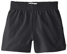 Soffe Big Girls\' New Soffe Short, Black, Medium