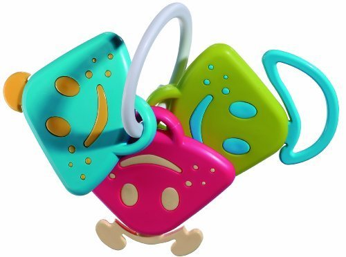 Vulli Chan Pie Gnon Rattle Keys and Teether - 1