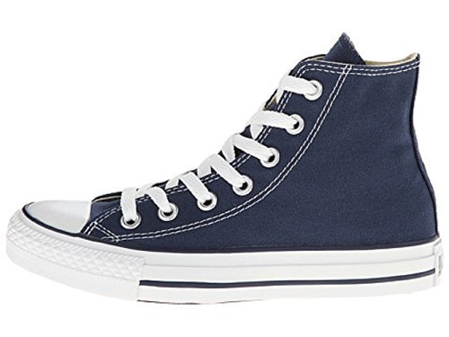 Converse Mens C Taylor A/S HI Sneakers (6 Men 8 Women, Navy)