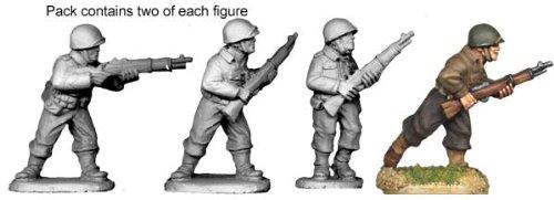 Artizan Designs WWII 28mm: US Infantry Riflemen (4)