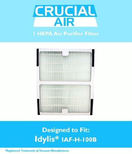 idylis b hepa air purifier filter