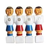 Vktech 4pcs Rod Foosball Soccer Table Football Men Player Replacement Parts