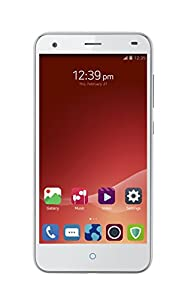 ZTE Blade S6 4G 5-Inch UK Version SIM-Free Smartphone - White (294 PPI HD Screen, 16GB ROM, 2GB RAM, Octa-Core Snapdragon 615, MicroSD Slot, 13 MP Rear Camera, 5 MP Front Camera, Android 5.0)
