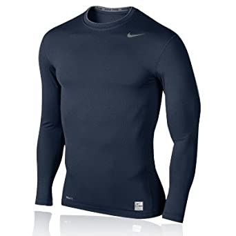 Nike Pro Core Long Sleeve Tight Crew Top, Size M
