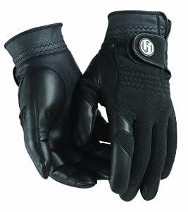 HJ Glove Women's Black Winter Performance Golf Glove
