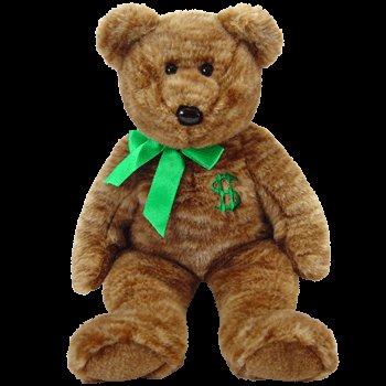 TY Beanie Buddy - BILLIONAIRE the Bear