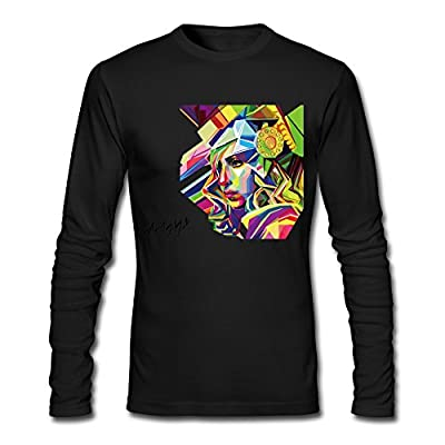 Men's Lady Gaga American Horror Story Tshirt Long Sleeve