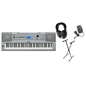 Yamaha DGX-230 Keyboard Bundle 
