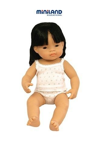 """Miniland Baby Doll Asian Girl (38 Cm, 15"""") front-935411"""