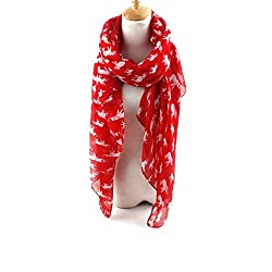 AngelShop Women Baby Elephant Printed Encryption Scarves Shawl BYWJ