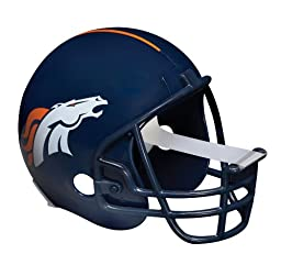 Scotch Magic Tape Dispenser, Denver Broncos Football Helmet with 1 Roll of 3/4 x 350 Inches Tape