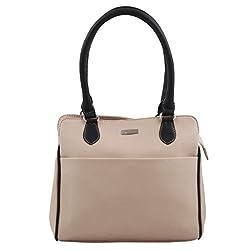 Beau Design Women's Handbag (Off-White,Bdhb028-01)