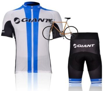 New Tour de France GIANT Racing Team Radtrikot Kurzarm Set Stop-Produktion