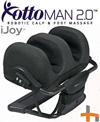 iJoy Faux Suede Black HT-980-900-002 Ottoman Massager
