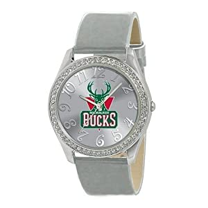 Milwaukee Bucks Ladies Watch - Designer Diamond Watch by Game Time