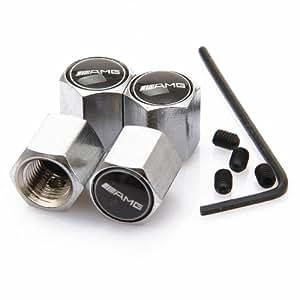D r anti theft wheel tire valve stem caps for for Mercedes benz valve stem caps