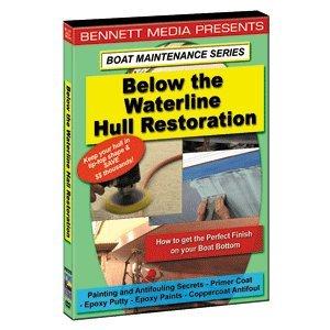 "Brand New Bennett Marine Video - Bennett Dvd Below Waterline Hull Restoration ""Product Category: Entertainment/Videos - Instructional"""