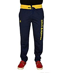 Crux&hunter Men's Trackpant (AMZ_ZJ_237_Navy_30)