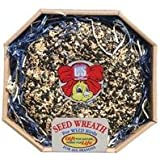 3 PACK SEED WREATH, Size: 2.6 POUND (Catalog Category: Wild Bird Food:WILD BIRD FOOD)