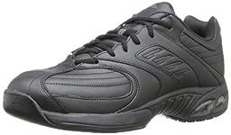 Dr. Scholl\'s Men\'s Cambridge Work Athletic Shoe,Black,8 W US