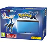 Nintendo Handheld Console 3DS XL - Blue and Black Limited Edition with Pokemon X