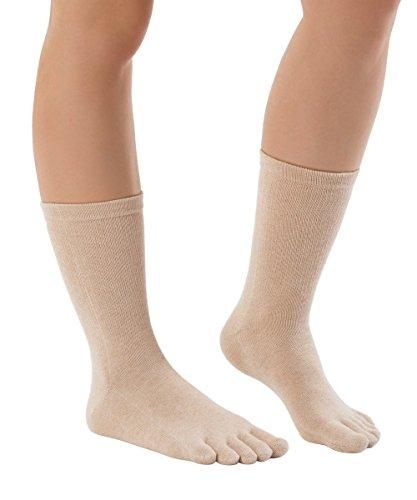 Knitido-Organics-chaussettes--orteils-mi-mollet-en-coton-bio