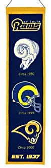 NFL St. Louis Rams Heritage Banner