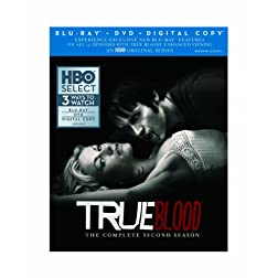 True Blood: The Complete Second Season (Blu-ray/DVD Combo + Digital Copy)