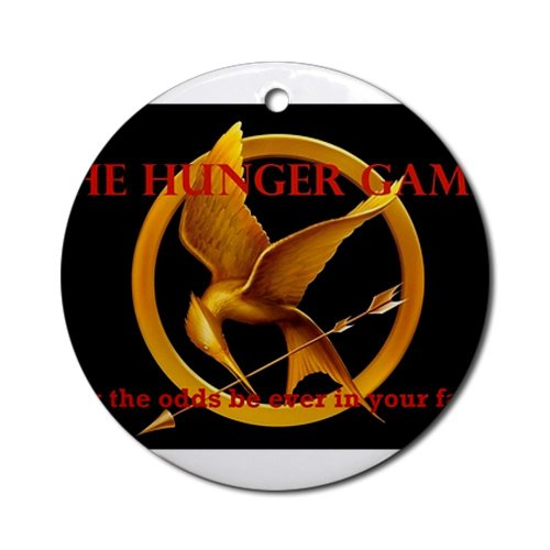 Hunger Games Odds Ornament Round Round Ornament by CafePress