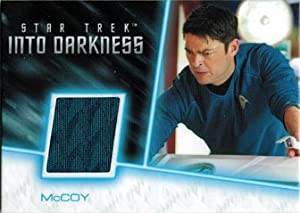Star Trek Movies 2014 Into Darkness RC4 Costume Wardrobe Card Karl Urban McCoy
