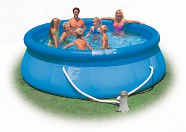 "Intex Above Ground 12' X 36"" Easy Set Swimming Pool"