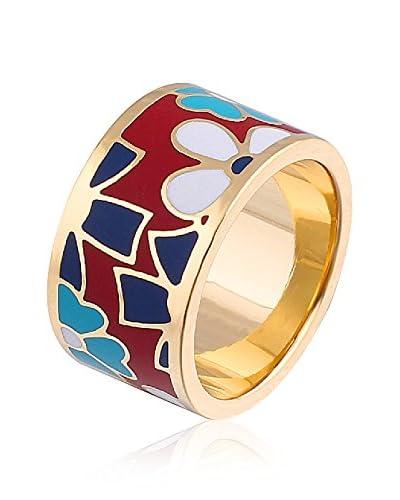 ROSE SALOME JEWELS Ring R003L vergoldeter Stahl 18 Karat