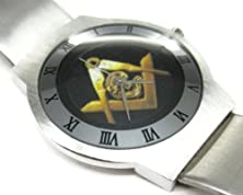 buy Fashion Men Watch Pss236 Ultra Slim Stainless Steel Watch New / Mason Masonic #1