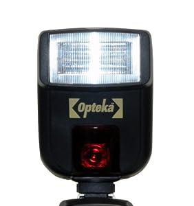 Opteka EF-710 DG Super E-TTL II Autofocus Dedicated Flash for Canon EOS 1Ds, 1D, 5D, 7D, 60Da, 60D, 50D, T4i, T3, T3i, T2i, T1i, XSi and XS Digital SLR Cameras