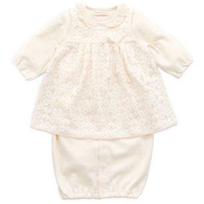 SENSE OF WONDER オーガニックコットン BASIC エプロン付 兼用ドレス 日本製 50-70cm [2015秋冬]