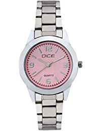 "DICE ""Flaunt 8058"" Fashionable, Elegant, Contemporary, Tasteful Watch For Women With Attractive Multi Dial Watch."