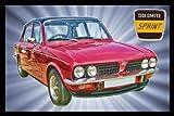 Triumph Dolomite Sprint Classic Car Jumbo Acrylic Fridge Magnet