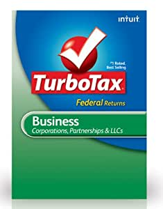 TurboTax Business Federal + E-File 2012 for PC [Old Version]
