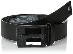 Quiksilver Men's Faux Leather Belts (UQYAA03136_Dark Shadow) (888256928435)