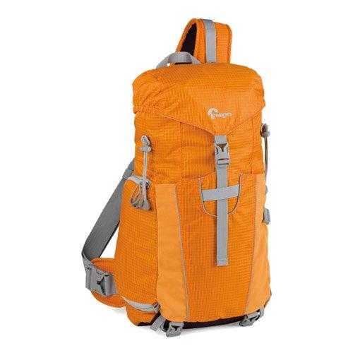 【国内正規品】Lowepro スリングバッグ/ワンショルダー フォトスポートスリング100AW 9L レインカバー オレンジ グレー 363528