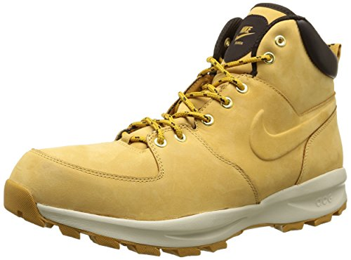 Nike, Manoa Leather, Stivaletti, Uomo, Nero (Haystack/Haystack-Velvet Brown), 44, 5