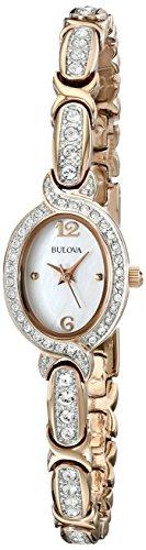 bulova-womens-98l200-stainless-steel-swarovski-crystal-accented-watch
