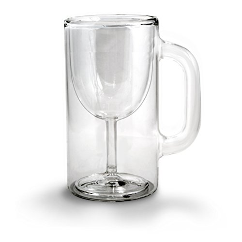 Fred & Friends WINESTEIN Double-Walled Stemware Mug