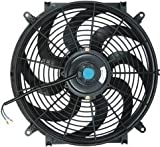 "PROCOMP 14"" INCH ELECTRIC COOLING AUTOMOTIVE RADIATOR FAN 12 VOLT (CURVED)"
