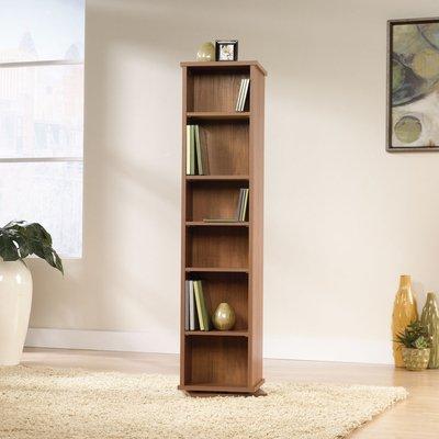 multimedia storage tower sauder camber hill multimedia storage tower sand pear. Black Bedroom Furniture Sets. Home Design Ideas