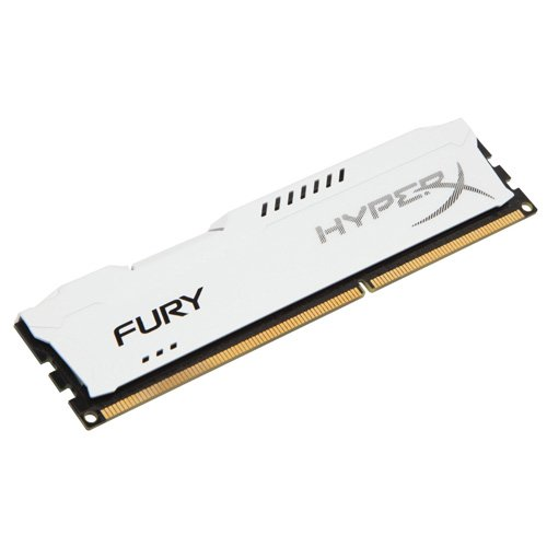 HyperX Fury White Series 4GB 240-Pin DDR3 SDRAM DDR3 1600  D
