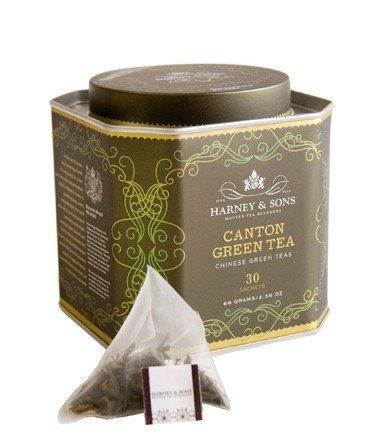 Harney & Son's Canton Green Tea - 30 Sachet in Tin