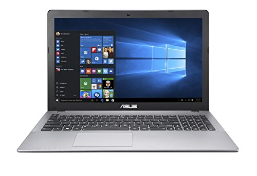 Asus K550VX-DM108T Portatile, Display da 15.6 Pollici Full HD, Intel Core i7-6700HQ, RAM 8 GB, Hard Disk da 1 TB, Scheda Grafica NVIDIA GeForce, Grigio